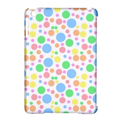 Pastel Bubbles Apple iPad Mini Hardshell Case (Compatible with Smart Cover)