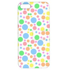 Pastel Bubbles Apple Iphone 5 Hardshell Case With Stand