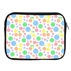 Pastel Bubbles Apple iPad Zippered Sleeve