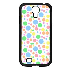 Pastel Bubbles Samsung Galaxy S4 I9500/ I9505 Case (Black)