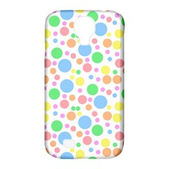 Pastel Bubbles Samsung Galaxy S4 Classic Hardshell Case (PC+Silicone)