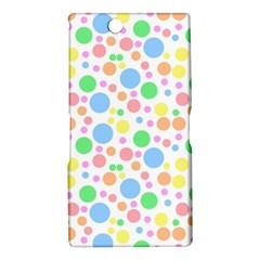 Pastel Bubbles Sony Xperia XL39h (Xperia Z Ultra) Hardshell Case