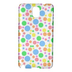 Pastel Bubbles Samsung Galaxy Note 3 N9005 Hardshell Case