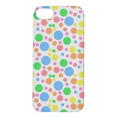 Pastel Bubbles Apple Iphone 5s Hardshell Case