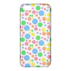 Pastel Bubbles Apple iPhone 5C Hardshell Case