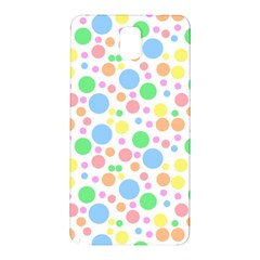 Pastel Bubbles Samsung Galaxy Note 3 N9005 Hardshell Back Case