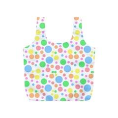Pastel Bubbles Reusable Bag (S)
