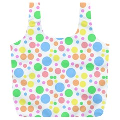 Pastel Bubbles Reusable Bag (xl)