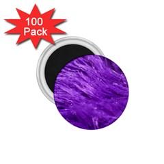 Purple Tresses 1.75  Button Magnet (100 pack)