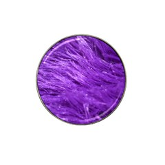 Purple Tresses Golf Ball Marker 4 Pack (for Hat Clip)