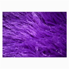 Purple Tresses Glasses Cloth (large)