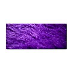 Purple Tresses Hand Towel