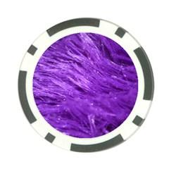 Purple Tresses Poker Chip (10 Pack)