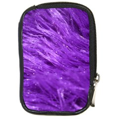 Purple Tresses Compact Camera Leather Case