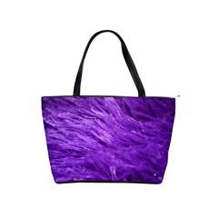 Purple Tresses Large Shoulder Bag