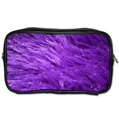 Purple Tresses Travel Toiletry Bag (Two Sides)