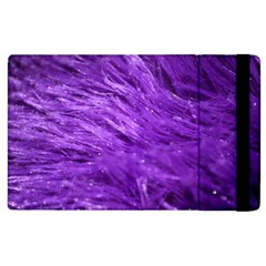 Purple Tresses Apple iPad 2 Flip Case