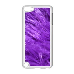 Purple Tresses Apple iPod Touch 5 Case (White)