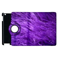Purple Tresses Apple Ipad 3/4 Flip 360 Case