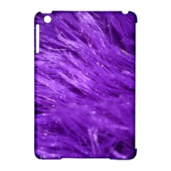 Purple Tresses Apple iPad Mini Hardshell Case (Compatible with Smart Cover)