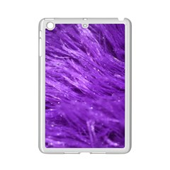 Purple Tresses Apple iPad Mini 2 Case (White)