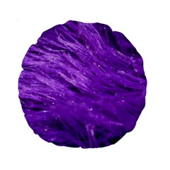 Purple Tresses 15  Premium Round Cushion