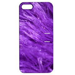 Purple Tresses Apple iPhone 5 Hardshell Case with Stand