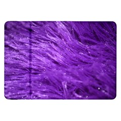 Purple Tresses Samsung Galaxy Tab 8.9  P7300 Flip Case