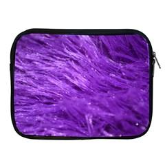 Purple Tresses Apple iPad Zippered Sleeve