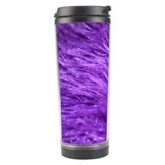 Purple Tresses Travel Tumbler