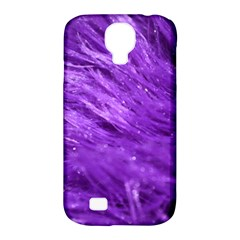 Purple Tresses Samsung Galaxy S4 Classic Hardshell Case (PC+Silicone)