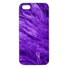 Purple Tresses iPhone 5S Premium Hardshell Case