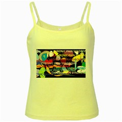 Chronic Pain Syndrome Yellow Spaghetti Tank