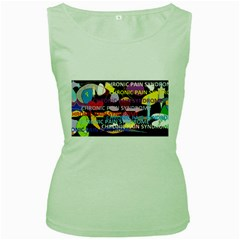 Chronic Pain Syndrome Women s Tank Top (green)