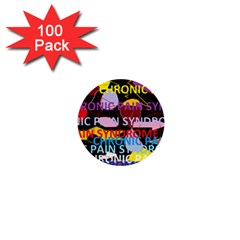 Chronic Pain Syndrome 1  Mini Button (100 Pack)