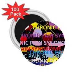 Chronic Pain Syndrome 2.25  Button Magnet (100 pack)