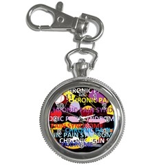 Chronic Pain Syndrome Key Chain Watch