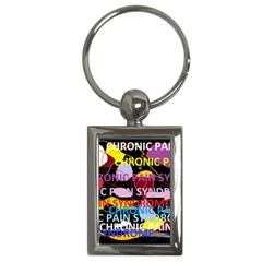 Chronic Pain Syndrome Key Chain (Rectangle)