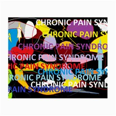 Chronic Pain Syndrome Glasses Cloth (small, Two Sided)