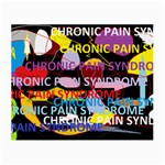 Chronic Pain Syndrome Glasses Cloth (Small, Two Sided) Front