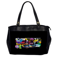 Chronic Pain Syndrome Oversize Office Handbag (One Side)