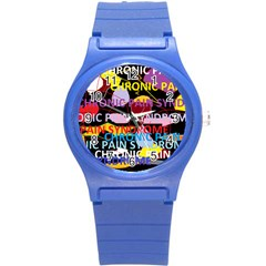 Chronic Pain Syndrome Plastic Sport Watch (Small)