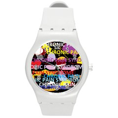 Chronic Pain Syndrome Plastic Sport Watch (Medium)