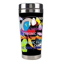 Chronic Pain Syndrome Stainless Steel Travel Tumbler