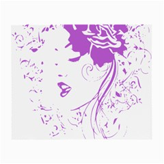 Purple Woman of Chronic Pain Glasses Cloth (Small, Two Sided)