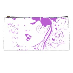 Purple Woman of Chronic Pain Pencil Case
