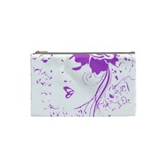 Purple Woman of Chronic Pain Cosmetic Bag (Small)