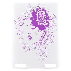Purple Woman of Chronic Pain Kindle Touch 3G Hardshell Case