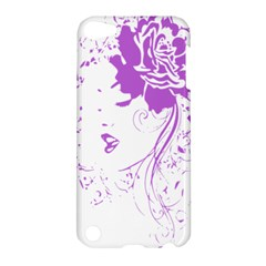 Purple Woman Of Chronic Pain Apple Ipod Touch 5 Hardshell Case