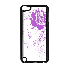 Purple Woman of Chronic Pain Apple iPod Touch 5 Case (Black)